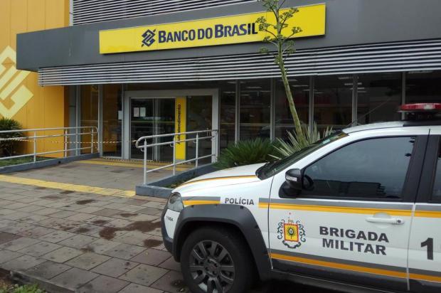 Caixa eletrônico de agência do Banco do Brasil é arrombado em Caxias do Sul Lucas Demeda/Agência RBS