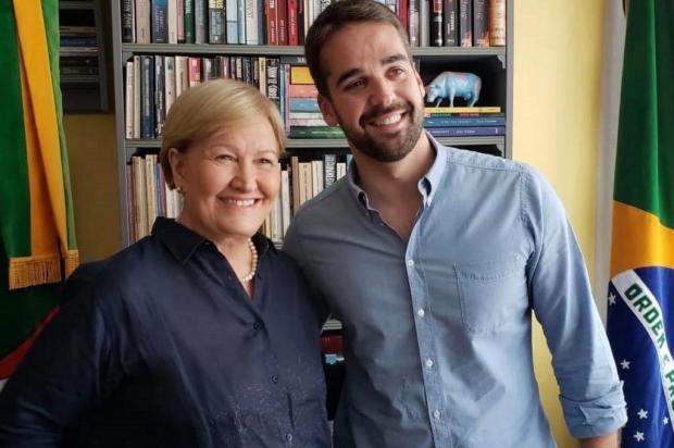 """Mirante: """"Muito me honraria tê-la no governo"""", diz Eduardo Leite sobre Ana Amélia Facebook/Reprodução"""