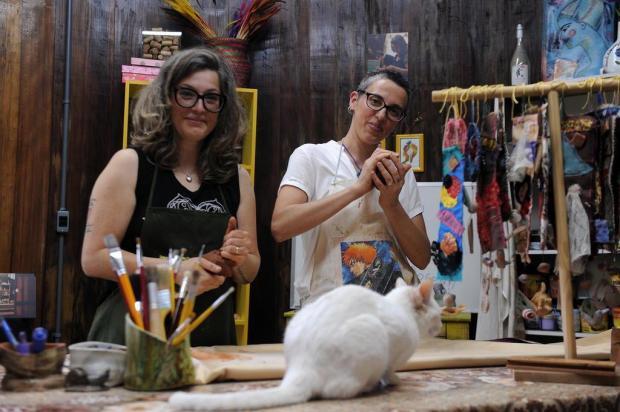 Casa do Caramujo oferece oficinas de ilustração e cerâmica, em Caxias Felipe Nyland/Agencia RBS