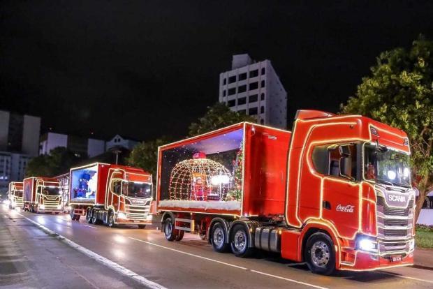 Saiba por onde passará a Caravana de Natal da Coca Cola em Caxias nesta segunda-feira Giovani Silva  / Divulgação /Divulgação