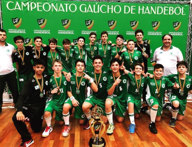 Três equipes do Recreio da Juventude sobem ao pódio no Campeonato Estadual Federação Gaúcha de Handebol / Divulgação/Divulgação