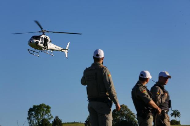 Em operação secreta, BM enviou tropas e helicóptero à região de Ibiraiaras antes do ataque Camila Domingues/Agencia RBS