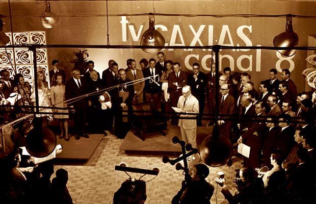 Memória: Festa da Uva 1969 e os primórdios da TV Caxias - Canal 8 Floriano Bortoluzzi / Agência RBS/Agência RBS