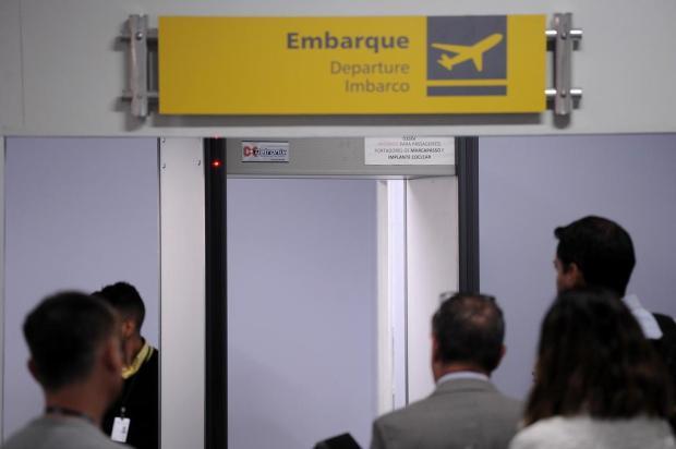 Sob risco, funcionamento de raio X está mantido no Aeroporto Hugo Cantergiani, de Caxias do Sul Felipe Nyland/Agencia RBS