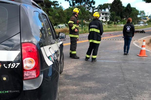 Motociclista morre em acidente na ERS-235, em Canela Polícia Civil / Divulgação/Divulgação