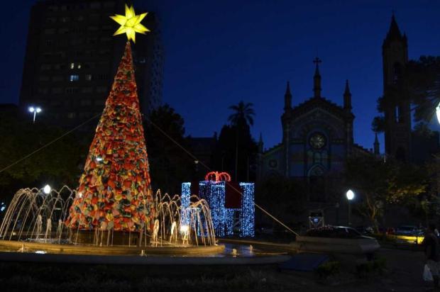 Papai Noel chega nesta sexta na Praça Dante Alighieri, em Caxias Róger Ruffato/divulgação