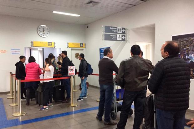 Funcionários do raio X do aeroporto de Caxias do Sul realizam operação padrão nesta sexta-feira André Fiedler / Agência RBS/Agência RBS