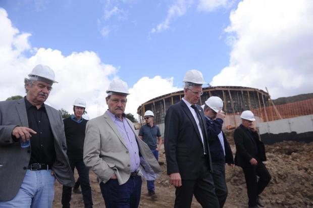 """""""Não temos nada a esconder"""", diz Sartori em visita a Farroupilha Felipe Nyland/Agencia RBS"""