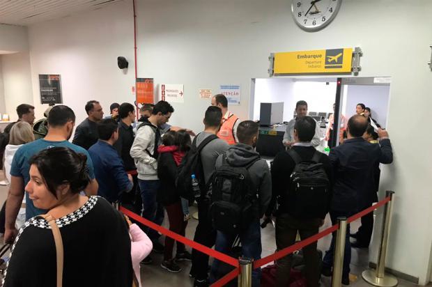 Sem acordo, operação padrão segue no raio X do aeroporto de Caxias do Sul André Tajes / Agência RBS/Agência RBS