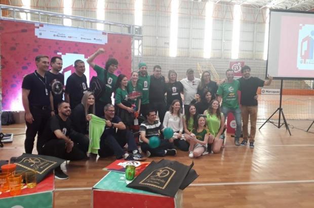 """Conheça as escolas que venceram a gincana """"Q.I. Fundação Marcopolo"""" em Caxias Alana Fernandes/Agencia RBS"""