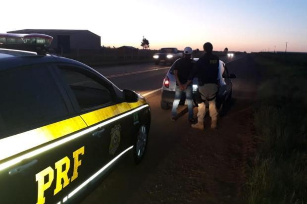Dois motoristas são presos pela PRF na BR-285 em Vacaria PRF/Divulgação
