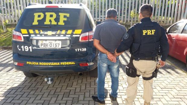 Suspeito de homicídio é detido em fiscalização da PRF em Caxias Divulgação / PRF/PRF