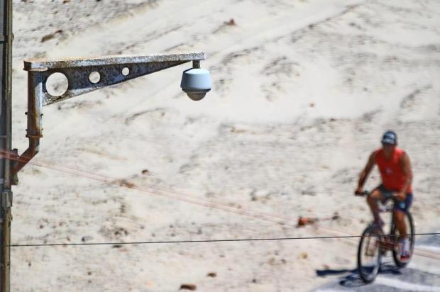 Sete municípios do Litoral mantêm câmeras de monitoramento. Arroio do Sal é um deles Lauro Alves/Agencia RBS