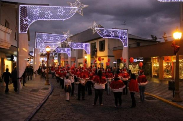 Garibaldi abre oficialmente programação do Natal Borbulhante nesta terça Prefeitura de Garibaldi/Divulgação