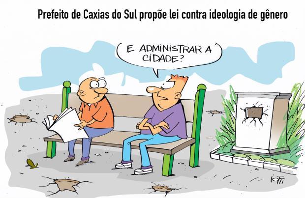 Iotti: contra a ideologia de gênero Iotti / Agência RBS/Agência RBS