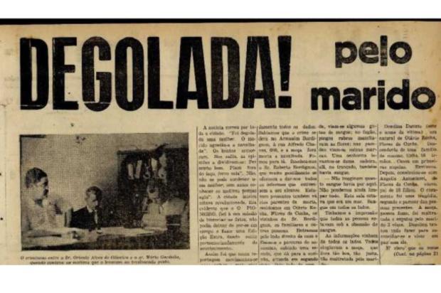 Nem todos os homens que matavam mulheres em Caxias eram condenados na Justiça Jornal Pioneiro 10/03/1951 / Reprodução /Reprodução