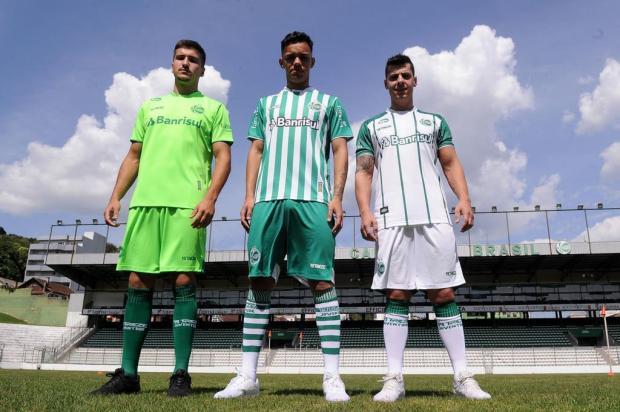 Juventude apresenta novos uniformes da equipe para 2019 Marcelo Casagrande/Agencia RBS