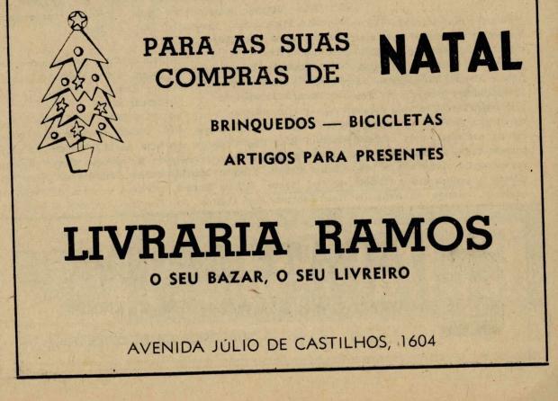 Memória: Boas Festas no Caxias Magazine em 1968 Centro de Memória da Câmara de Vereadores de Caxias do Sul / reprodução/reprodução