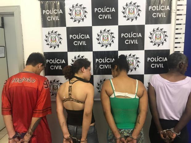 Polícia prende quatro suspeitos de latrocínio que vitimou idoso em Caxias do Sul Polícia Civil / Divulgação/Divulgação