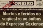 Das pequenas quadrilhas às facções: como o crime dominou Caxias do Sul (Reprodução/Jornal Pioneiro - 13/09/1985)