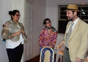 Mistério e humor são ingredientes da peça Bolinhos da Mamãe, que ocorre neste domingo, em Caxias Scheila Xavier / Divulgação/Divulgação