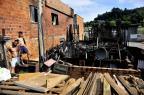 Família perde tudo em incêndio em Caxias do Sul Lucas Amorelli/Agencia RBS