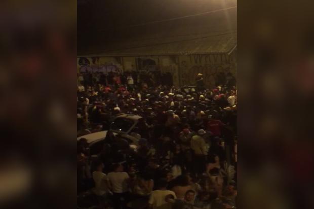 Vídeo: confira imagens da movimentação na Estação Férrea, em Caxias divulgação/