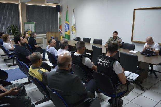 Prefeitura de Caxias e Brigada Militar se reúnem após confusão no Largo da Estação Férrea Leonardo Portella/Divulgação