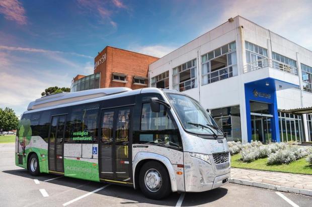 Marcopolo e UCS aperfeiçoam o ônibus elétrico, em Caxias claudia velho/divulgação