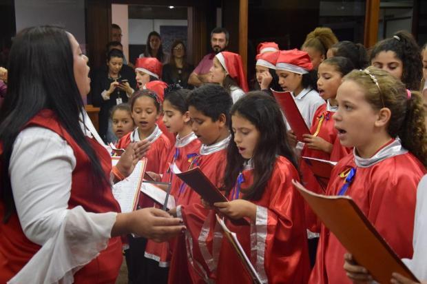 Coral dá voz a crianças do bairro Euzébio Beltrão de Queiroz, em Caxias do Sul Franciele Mascohi Lorenzett/Divulgação