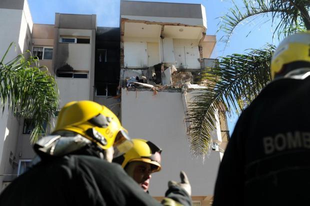 Parte das famílias volta a ocupar neste sábado prédio atingido por explosão e incêndio em Farroupilha Felipe Nyland/Agencia RBS