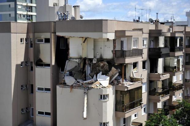 PPCI de prédio atingido por explosão e incêndio em Farroupilha está em andamento Lucas Amorelli/Agencia RBS