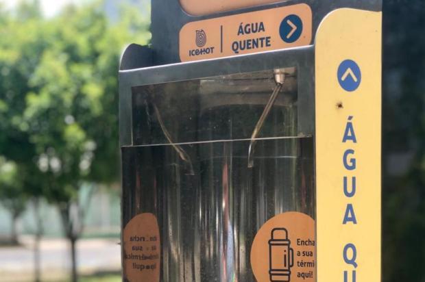 Praça de Farroupilha ganha primeiro chimarródromo Prefeitura de Farroupilha/Divulgação