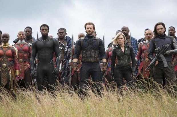 """""""Vingadores: Guerra Infinita"""" foi o filme mais visto na Serra em 2018 Disney/Divulgação"""