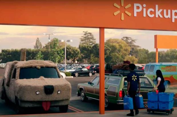 3por4: carros da cultura pop estrelam nova campanha de Walmart Reprodução/