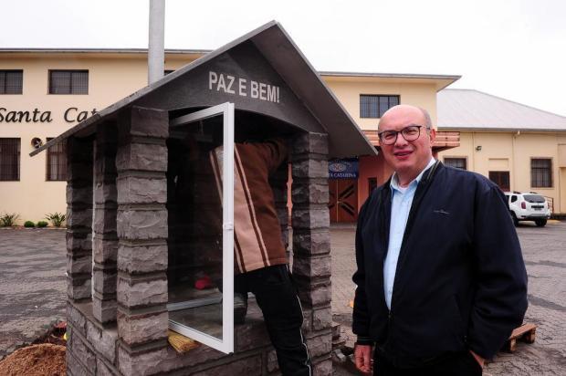 Padre Renato Ariotti se despede da Paróquia Santa Catarina em Caxias do Sul Marcelo Casagrande/Agencia RBS