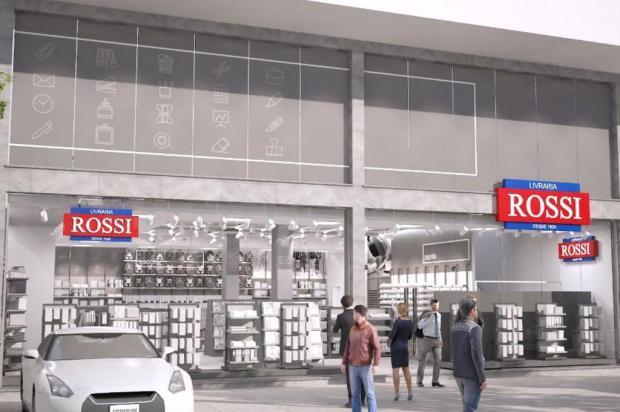 Livraria Rossi inaugura a quinta loja em Caxias do Sul rossi/reprodução