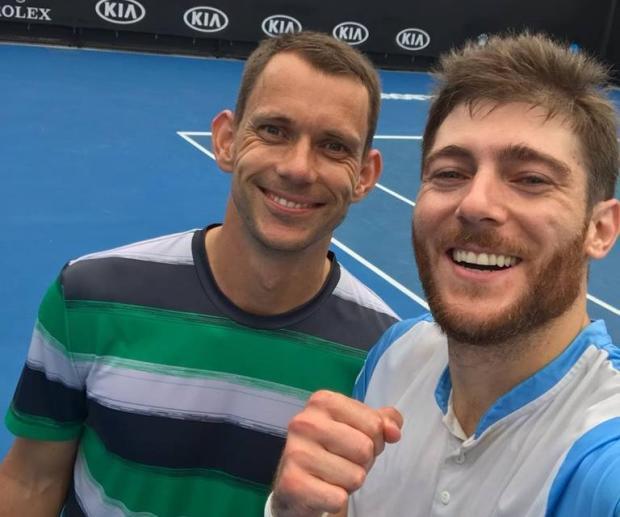 Caxiense Marcelo Demoliner estreia com vitória no Australian Open Arquivo Pessoal / Facebook/Facebook