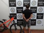 Investigação sobre perfil falso leva a recuperação de bicicleta furtada em Farroupilha Polícia Civil / Divulgação/Divulgação
