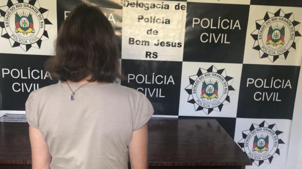 Polícia Civil prende companheira de idoso morto durante assalto em Bom Jesus Polícia Civil / Divulgação/Divulgação