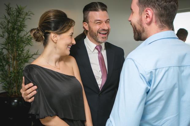 A médica Marcella Barbalho promoveu a estreia de sua clinica e reuniu mais de 200 convidados Rafael Sartor, divulgação/