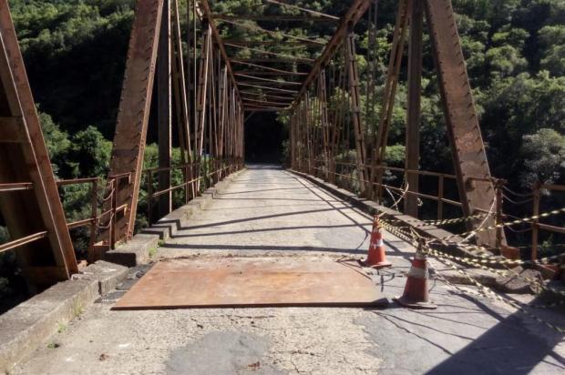 Ponte entre Nova Roma do Sul e Farroupilha deve ter bloqueios a partir de segunda-feira Douglas Fávero Pasuch/Prefeitura de Nova Roma do Sul