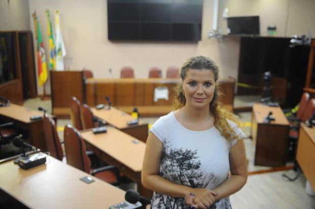 """""""Não me considero oposição e nem base do governo"""", afirma nova vereadora titular de Caxias Felipe Nyland/Agencia RBS"""