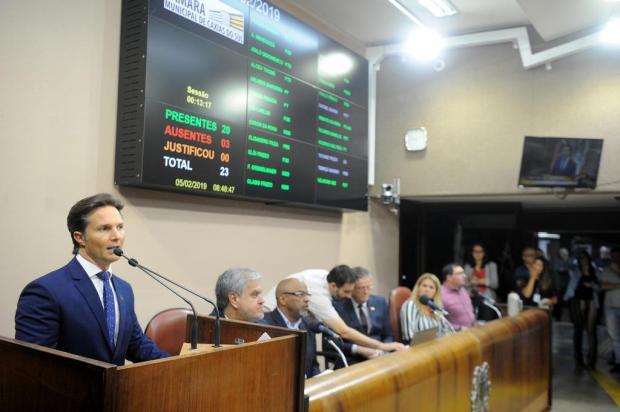 Prefeito de Caxias do Sul abre ano legislativo e evita falar sobre impeachment Felipe Nyland/Agencia RBS
