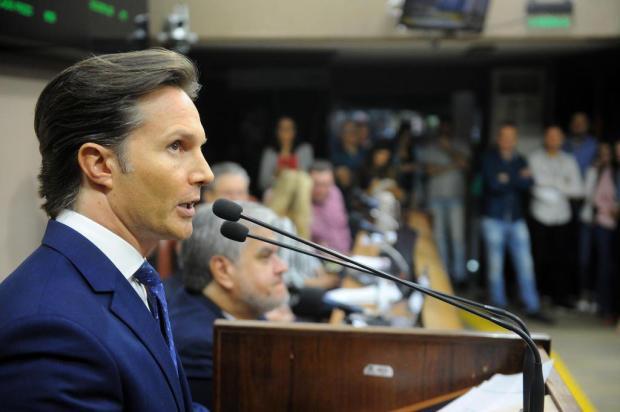 Vereadores contestam manifestação do prefeito Guerra na Câmara de Caxias do Sul Felipe Nyland/Agencia RBS
