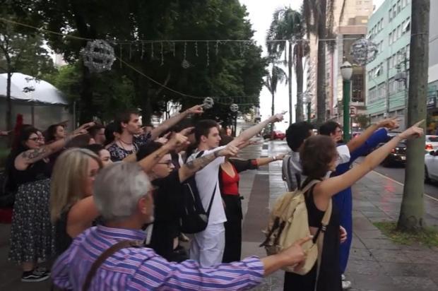 Exibição de documentário sobre coletivo de arte de Caxias é transferida devido à chuva Arthur Bellincanta/Divulgação