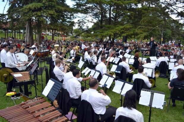 Apresentação do Concertos de Verão é cancelada devido ao mau tempo em Caxias do Sul Róger Ruffatto/Divulgação
