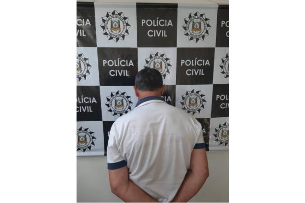 Condenado por estupro é capturado em Caxias do Sul Polícia Civil / Divulgação/Divulgação