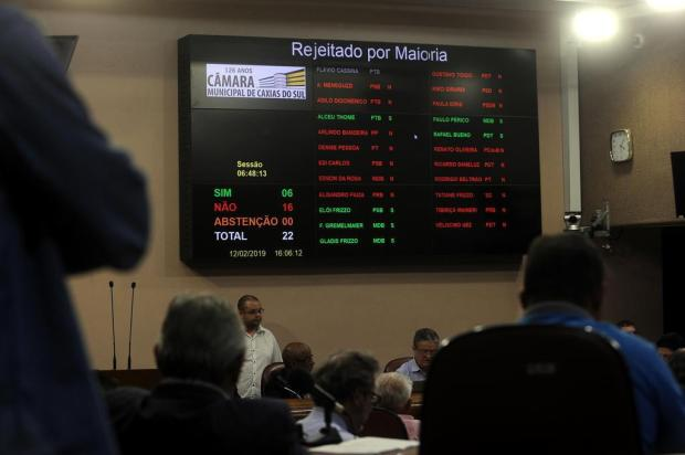 Câmara rejeita a admissibilidade do impeachment do prefeito Daniel Guerra Marcelo Casagrande/Agencia RBS