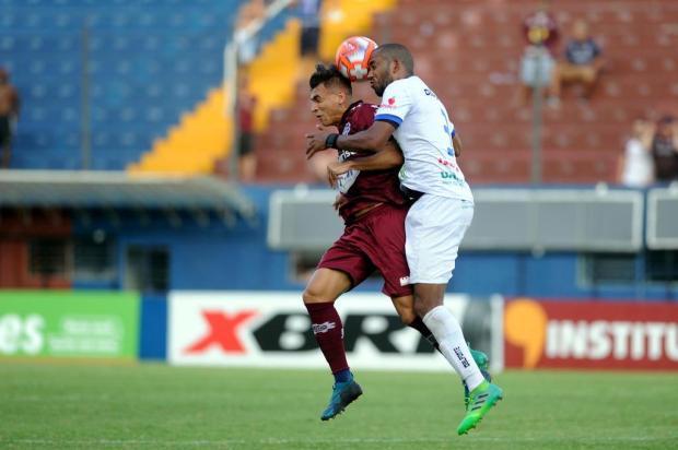 Intervalo: Pingo acerta ao testar um novo camisa 9 para o Caxias Marcelo Casagrande/Agencia RBS